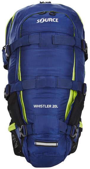 SOURCE Whistler - Mochila bicicleta - 3L azul